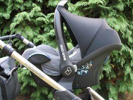 Fotelik samochodowy Maxi cosi cabrio fix z adapterami Baby Design dott