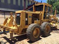 Image of CAT 140G grader with Ripper