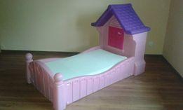 Łóżko dziecięce dla dziewczynki litle tikes willa różowe