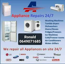 Appliance repairs and electrical