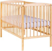 Nowe łóżeczko sosnowe KUBA 120 x 60 cm