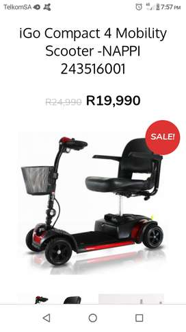 Motorised wheelchair or scooter