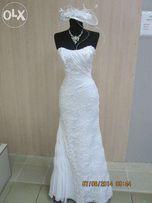 Продам красивое, необычное свадебное платье. Цена снижена.