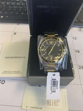 Emporio Armani two tone watch - from UK