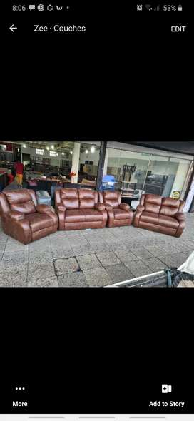4 pieces brand new 6 seaters