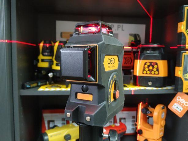 WYTRZYMAŁY 60m Laser liniowy krzyżowy Geo6X SP geoFennel 3D + STATYW Kielce - image 5