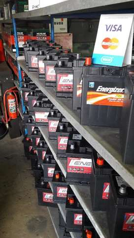 Car and Truck Batteries.