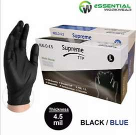 STOCK FOR LATEX AND NITRILE GLOVES