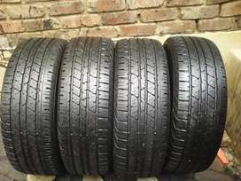 A set of tyres ,265/70/18 Continental now available