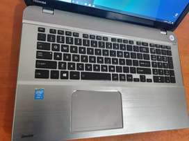 Core i7 Toshiba laptop Clean