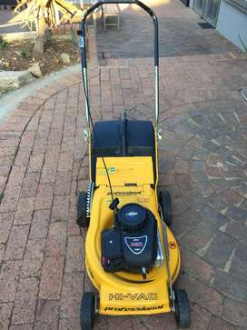Professional Hi-Vac Rotary Lawnmower, Briggs & Stratton 450 series 148