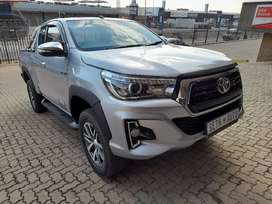 2018 Toyota hilux 2.8 GD6 extra cab 4x4 manual diesel