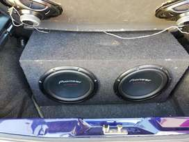 Amp and subs give away