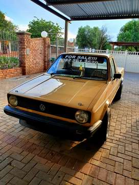 Old school mk1 caddy bakkie for sale ,beautiful and everyday runner.