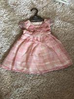 Нарядное платье из натуральных тканей Jasper Conran Рост 68 в отличном