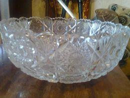 ваза хрустальная для фруктов