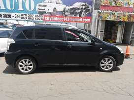 Toyota verso 1.8engine with Sun rufe