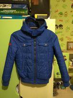 Продам демисезонную куртку на мальчика р. 140 - 146