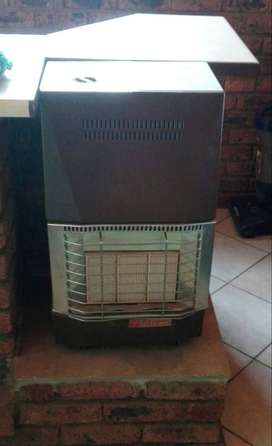 gas heater and cylinder