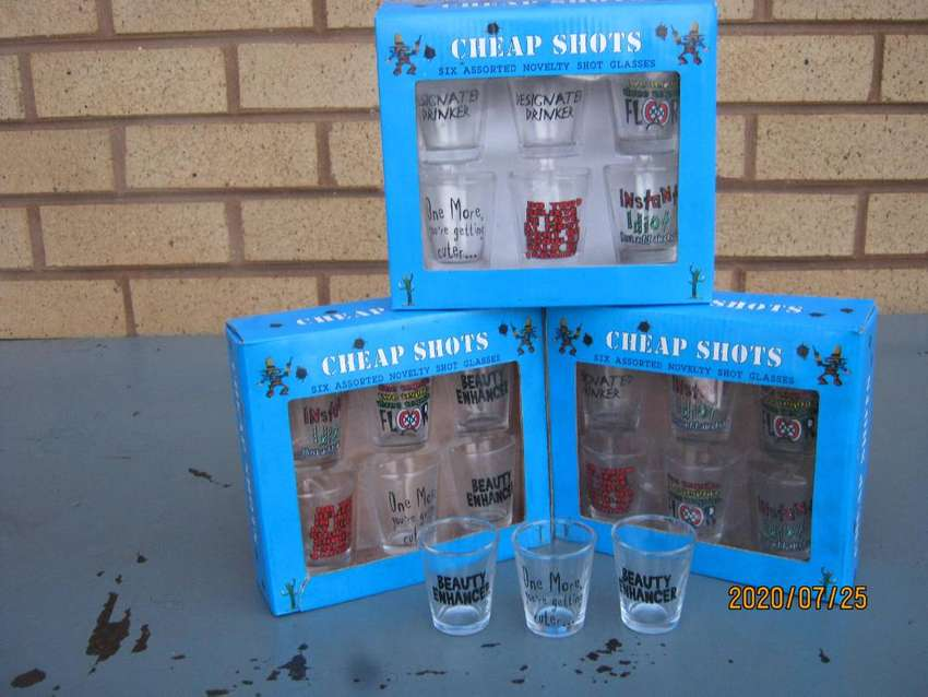 Novelty Shot Glasses (CHEAP SHOTS) 0