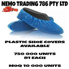 NEMO TRADING 786 PLASTIC SHOE COVERS