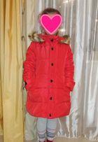 Пальто зимнее для девочки на 10 лет новое