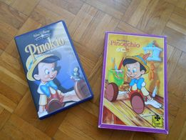 Pinokio - puzzle + bajka Disney