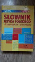 Słownik języka polskiego z przysłowiami i frazeologizmami Polański