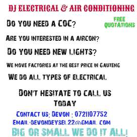 DJ ELECTRICAL & AIR CONDITIONING