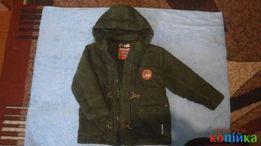 Куртка до 6 лет сток на хлопк. подкладке