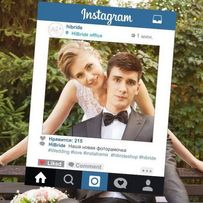 Рамка Instagram (инстаграм) для фотосессии. Бесплатная доставка.
