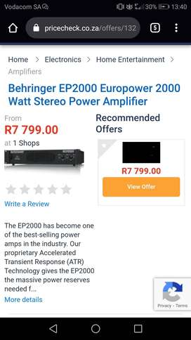 Professional sound for sale at bargain price