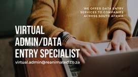 Virtual Assistant / Data Entry Specialist