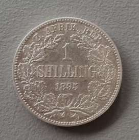 1895 1 Shillings in XF Condition - Hern's value is R15000