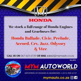 Used Honda engines for sale