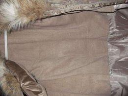 новое пальто на зиму на синтепоне размер S, 42-44