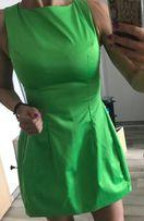 Sukienka neon zielona model zara pinko guess rizmiar S jest boska