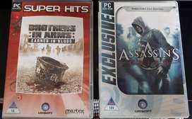 PC Games - Assassins Creed / Brothers in Arms - R80 for BOTH