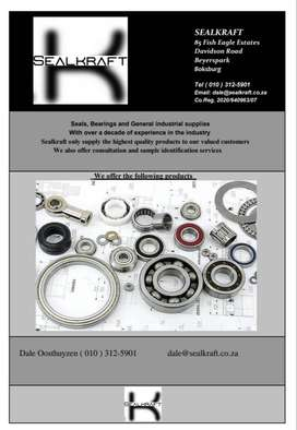 Sealkraft specialists in all seals and bearings