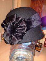 Шляпка, шляпа фетровая 56-57 р-р