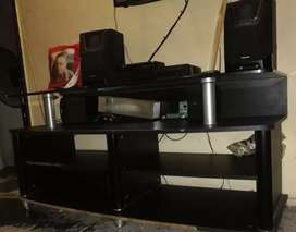 Lounge set and TV stand