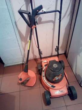 Electric weed eater +grass cutter