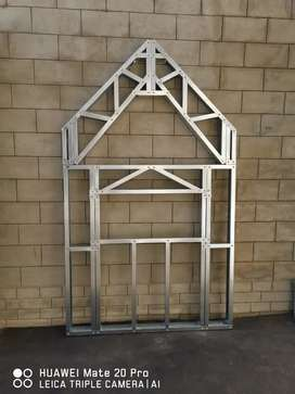 Custom steel trusses
