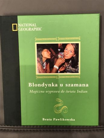 Książka Blondynka u szamana Beata Pawlikowska Pruszków - image 1