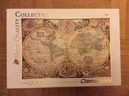"Puzzle 3000 ""Mapa świata"""