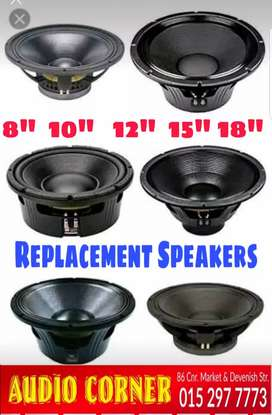 We Repair Speakers and Speaker boxes