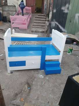 TODLER BEDS SOLID PINEWOOD