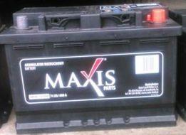 Akumulator MAXIS (jak BOSCH ) 74Ah 680 A dowóz free