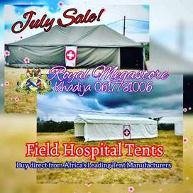 Winter Canvas Frame Peg and Pole Marquee Classic Tents Chemical Toilet