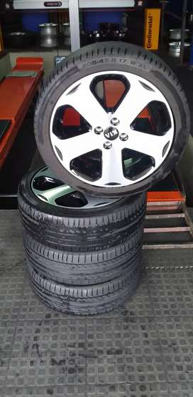 "Original 17"" mags and tyres for KIA"